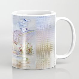 Swan in Love Coffee Mug