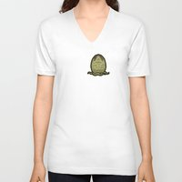 lv V-neck T-shirts featuring I Love LV-426 by Mike Handy Art