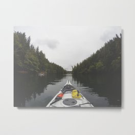 Live the Kayak Life Metal Print