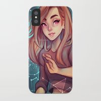 cyarin iPhone & iPod Cases featuring Constellations by Cyarin
