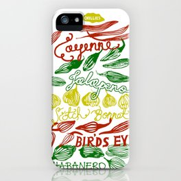 Chillies iPhone Case