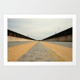Closed Bridge Art Print