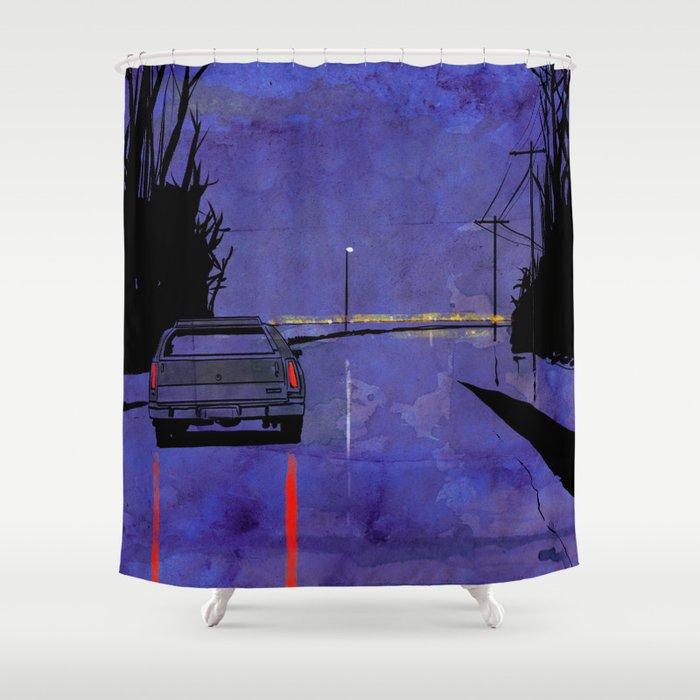 Nightscape 02 Shower Curtain