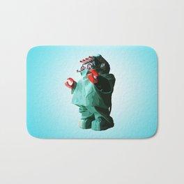 Doctorbot Blue Bath Mat