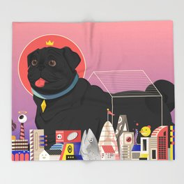 Casa Canis Throw Blanket