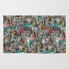 Gemstone Cats Rug