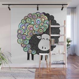 Yin Yang Sheep Wall Mural