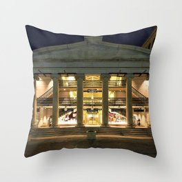 Providence Arcade - Providence, Rhode Island Throw Pillow