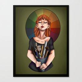 Art-donna Canvas Print