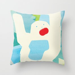 Abominable Throw Pillow