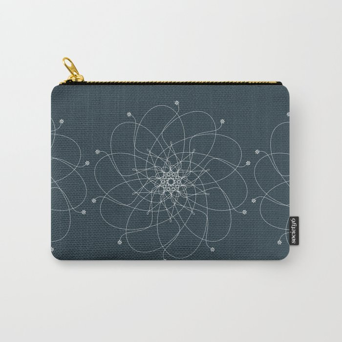 Ornament – Nightblu Blossom Carry-All Pouch