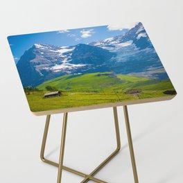 Alpine Scenery Side Table