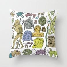 gefgefgefgefgef Throw Pillow