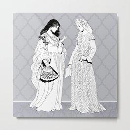 Roman Sisters Metal Print