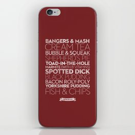 London — Delicious City Prints iPhone Skin