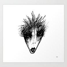 Muguruza Art Print
