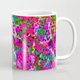 Floral Abstract Stained Glass G548 Coffee Mug