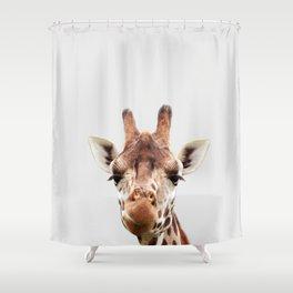 Giraffe, Safari Animal Shower Curtain