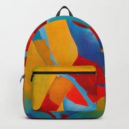 Girl Figurative Art Print Backpack