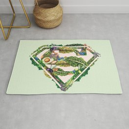 Super Powered By Plants Rug