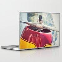 beaver Laptop & iPad Skins featuring de Havilland Beaver by Shaun Lowe