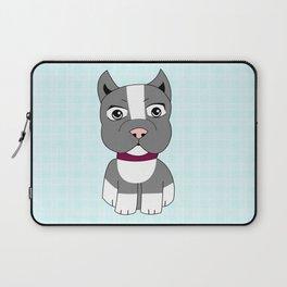 Cartoon Boston Terrier Laptop Sleeve