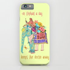 an Elephant a day iPhone 6s Slim Case