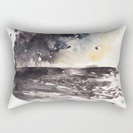 Evening Beaches Rectangular Pillow