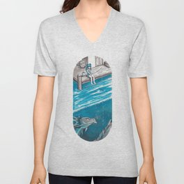 Fishing Day Unisex V-Neck