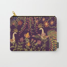 Birds of Paradise. Colorful illustration. Carry-All Pouch