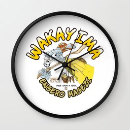 Wakayima. Character from Ancient Ugandan Folk Tale Wall Clock