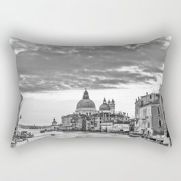 A view of Venice from the Accademia Bridge Rectangular Pillow