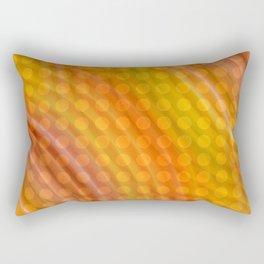 Pattern orange Rectangular Pillow
