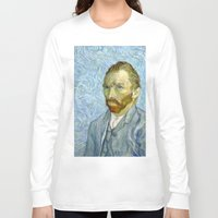 van gogh Long Sleeve T-shirts featuring Vincent van Gogh by Premium