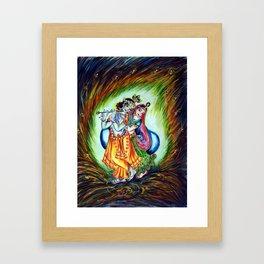 Radha Krishna  Framed Art Print