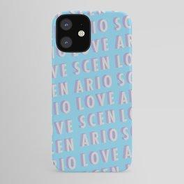 Love Scenario - Typography iPhone Case