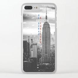 American Clear iPhone Case