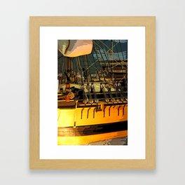 Ship Detail Framed Art Print