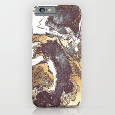 Black White Gold Slim Case iPhone 6