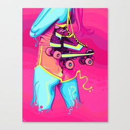 Roller Girl Canvas Print