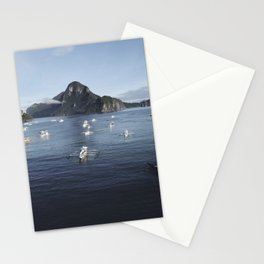 The Philippines Islands in El Nido Palawan Stationery Cards