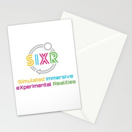SIXR: Simulated Immersive eXpermental Realities Stationery Cards