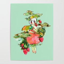 Picking Straberry採草莓 Poster