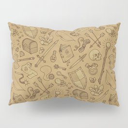 Inventory in Sepia Pillow Sham