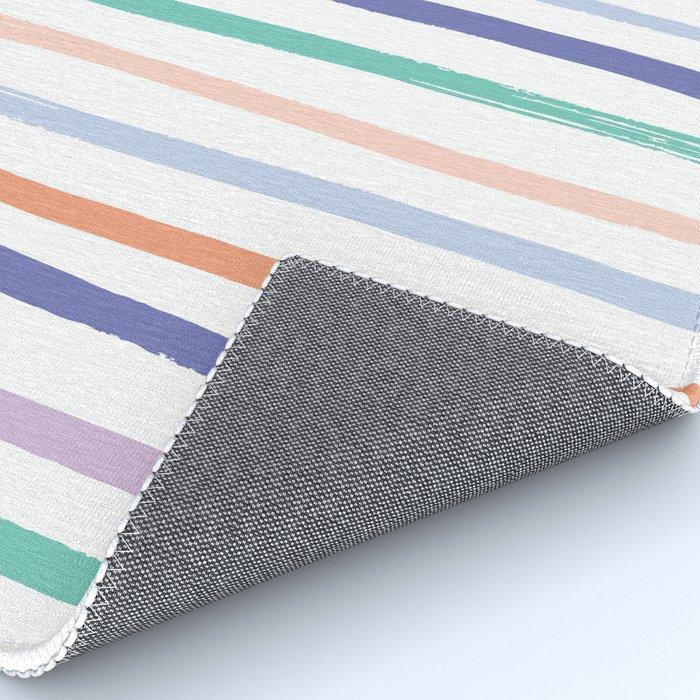 Fruit Stripes - Blueberry Rug