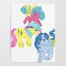 g1 my little pony Poster