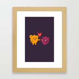 You're My Love Framed Art Print