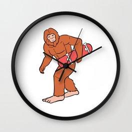 Skate Ape Skater Boy or Girl Gift Wall Clock