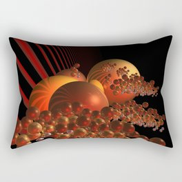 curtain outside in the galaxy -2- Rectangular Pillow