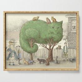 The Night Gardener - The Cat Tree Serving Tray